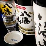 八海醸造のコンセプトは食中酒であり、料理の邪魔をしない。このコンセプトは店主が感銘を受け、六日町では初めて八海山を推した飲食店をしている。