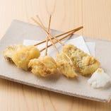 海鮮おまかせ5種盛天ぷら串