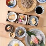 【季節のチョイスコース】お好きな料理が選べる!大将選りすぐりの逸品を堪能〈全6品〉6,500円
