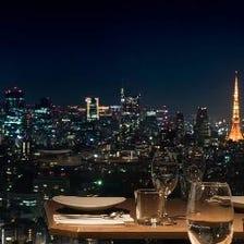 東京都心を一望する圧倒的眺望!!