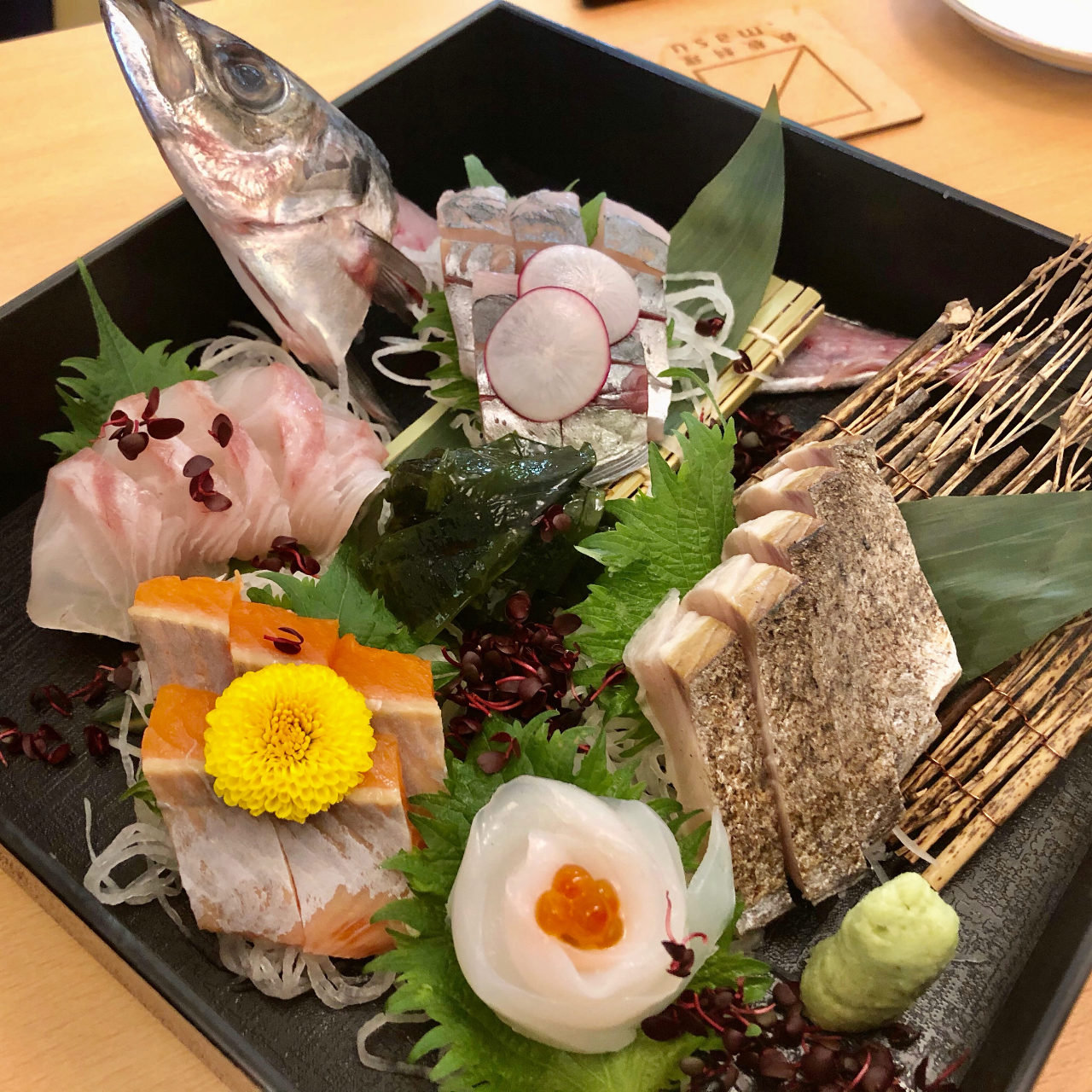 鮮魚を使った料理もおすすめ◎