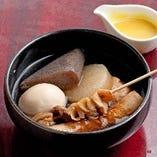 おでんも登場しました!四国の郷土料理を思う存分楽しめます
