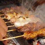 千葉のハーブ鶏や宮崎の厳選の鶏を使用。【千葉県】