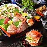 人気の宴会コースは飲み放題込2480円~ 値段調整、料理調整◎