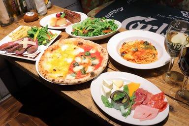 ピッツェリア バール レ・ナポリ 京都錦 コースの画像