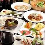 様々な料理とドリンクをご用意してお待ちしております。