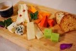 おつまみチーズ盛り合わせ