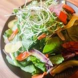 横浜市港北区小山さんの小松菜サラダ