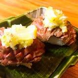 牛タン炙り寿司