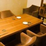 ラグジュアリーな空間は接待や会食におすすめ