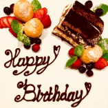 誕生日・記念日に『デザートプレート』のご用意可能です