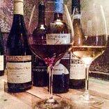 経験豊富なソムリエが厳選した伊・仏のワインを多彩にご用意
