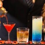 ちょっと寄り道したい夜はグランロワで★豊富なカクテル、ノンアルコールカクテルもご用意できます!