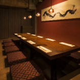 接待・会食にお勧め…個室2名様~35名様まで全9室!
