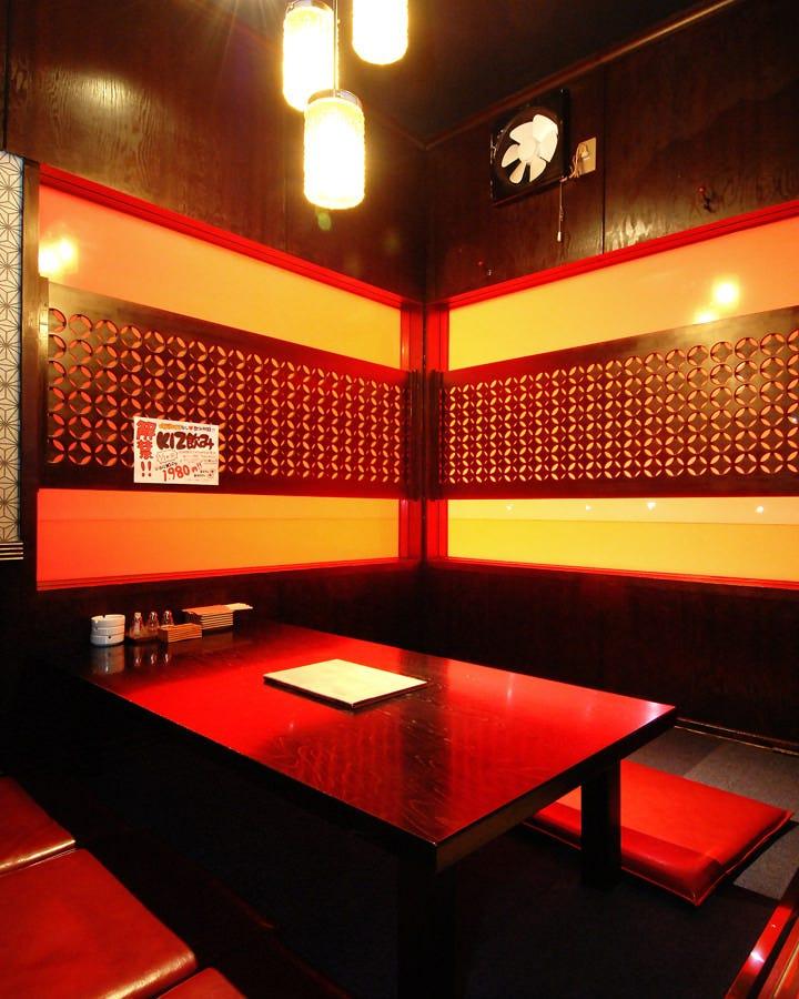 個室充実◎全室個室 モダンで落ち着いた雰囲気 どの席も大人気