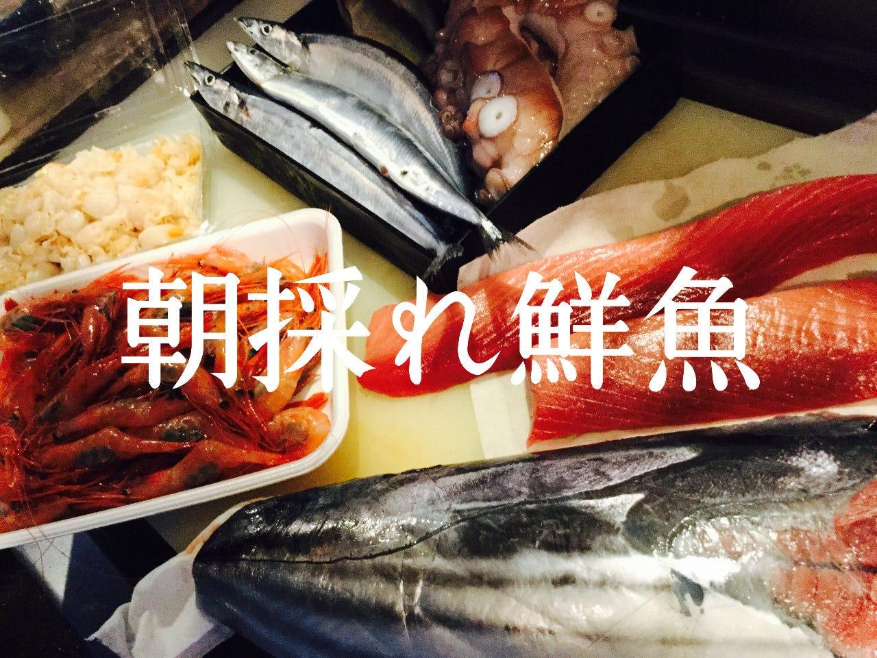 旬の海鮮・鮮魚が味わえる
