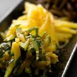 季節の野菜ナムル盛合せ