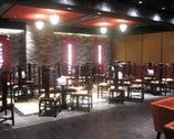 大きなパーティー会場に対応可能なホール席