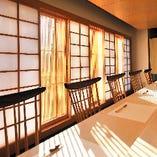 """シンプルで""""粋""""な江戸文化のテイストを好む和モダンな雰囲気。"""