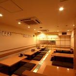 三田/田町最大級!!最大40名様まで可能な完全個室