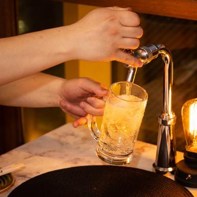 1秒で飲める卓上レモンサワーと比内地鶏 はなこま 品川駅前店  コースの画像