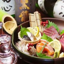 鮮度抜群の海鮮鮮魚