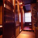 ■3階個室席 貸切のご案内 扉の取り外しが可能なので回りをほぼ見渡せる貸切空間になります。内覧どうぞ