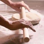 自家製粉石臼挽そば 茨城県産そば使用