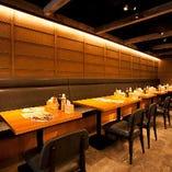【25~30名様】使い勝手の良いテーブル貸切は様々なご宴会に最適