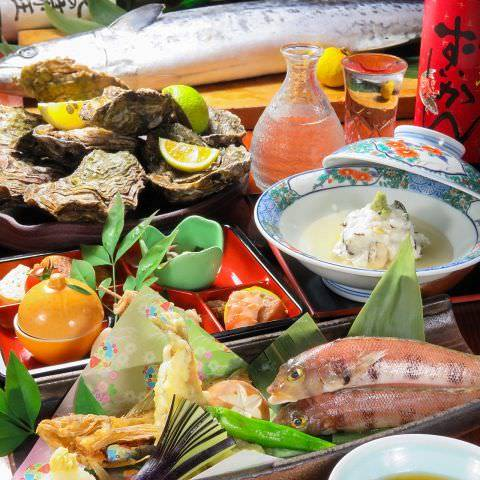 旬の移ろいを味わう和料理コース