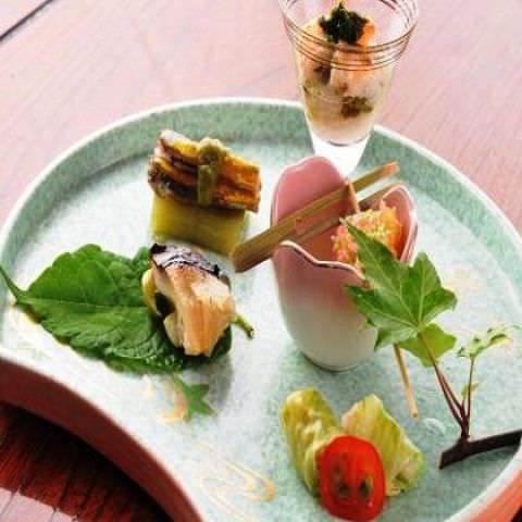 【冬の訪れ】安芸の秋食材で楽しむ~至福の贅沢コース~120分飲み放題付(全10品)