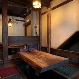 ◆旨し酒菜ありて酒宴盛る◆ 宴会に最適な掘りごたつのお席