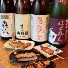 焼き鳥によくあう、日本酒
