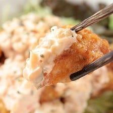 焼き鳥を中心とした鶏料理