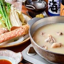 濃厚なコクと深みのある自家製スープ