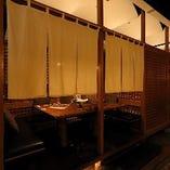 テーブル席半個室(4名様)