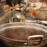 【特製そばつゆ】 ヒシク醤油や鰹・昆布出汁を使用したそばつゆ