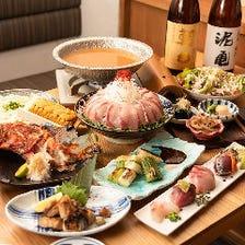 魚炉の人気料理を集めた宴会コース!