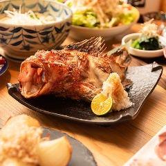 名物!本日の鮮魚一本焼き