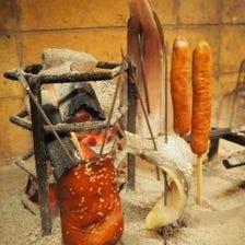 炭火炉端と創作料理