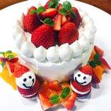 ホールケーキ(一例) お気軽にご相談ください