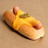 チェダーチーズドッグ