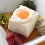 毎日お店で手造りしている自家製豆腐は、絶品です!