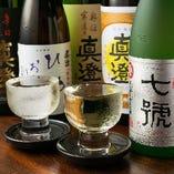 料理と相性抜群!信州の日本酒/焼酎/ワインなど地酒も各種ご用意