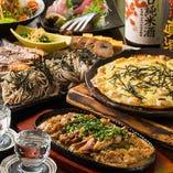 各種宴会に最適な2時間飲み放題付コースを4,000円~ご用意