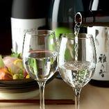 和の逸品とご一緒にお楽しみいただきたい香り高い厳選日本酒