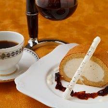 本格サイフォン珈琲と自家製のケーキ