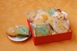 自家製焼菓子は、お中元やお歳暮、ギフトに最適(配送承ります)