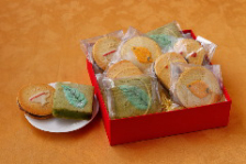 当店オリジナル焼菓子を、贈り物等に