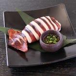 イカの丸焼き~肝ソース~